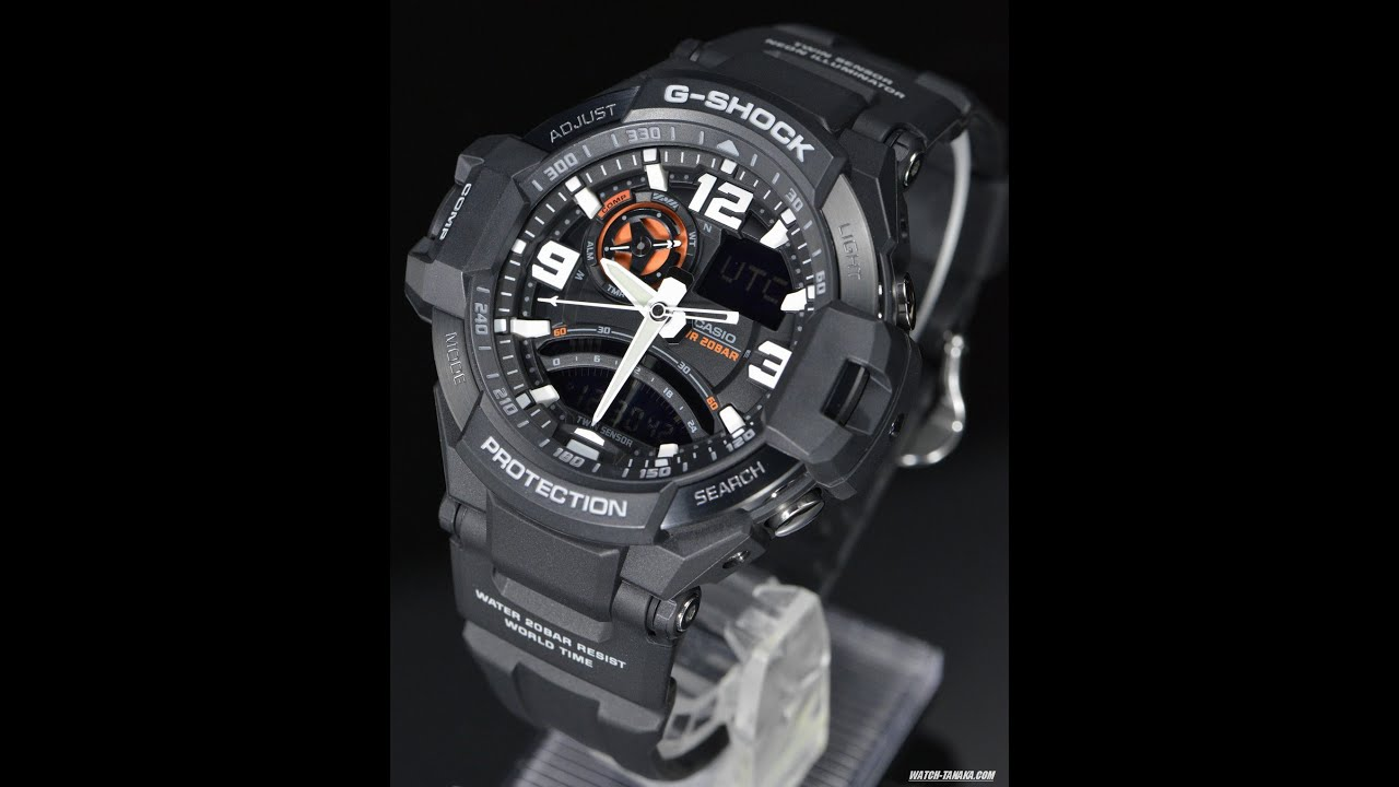 bb45c69a286 G-shock GA-1000 1A GRAVITYMASTER - YouTube