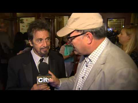 TIFF 2014: Al Pacino & Holly Hunter discuss roles in 'Manglehorn'