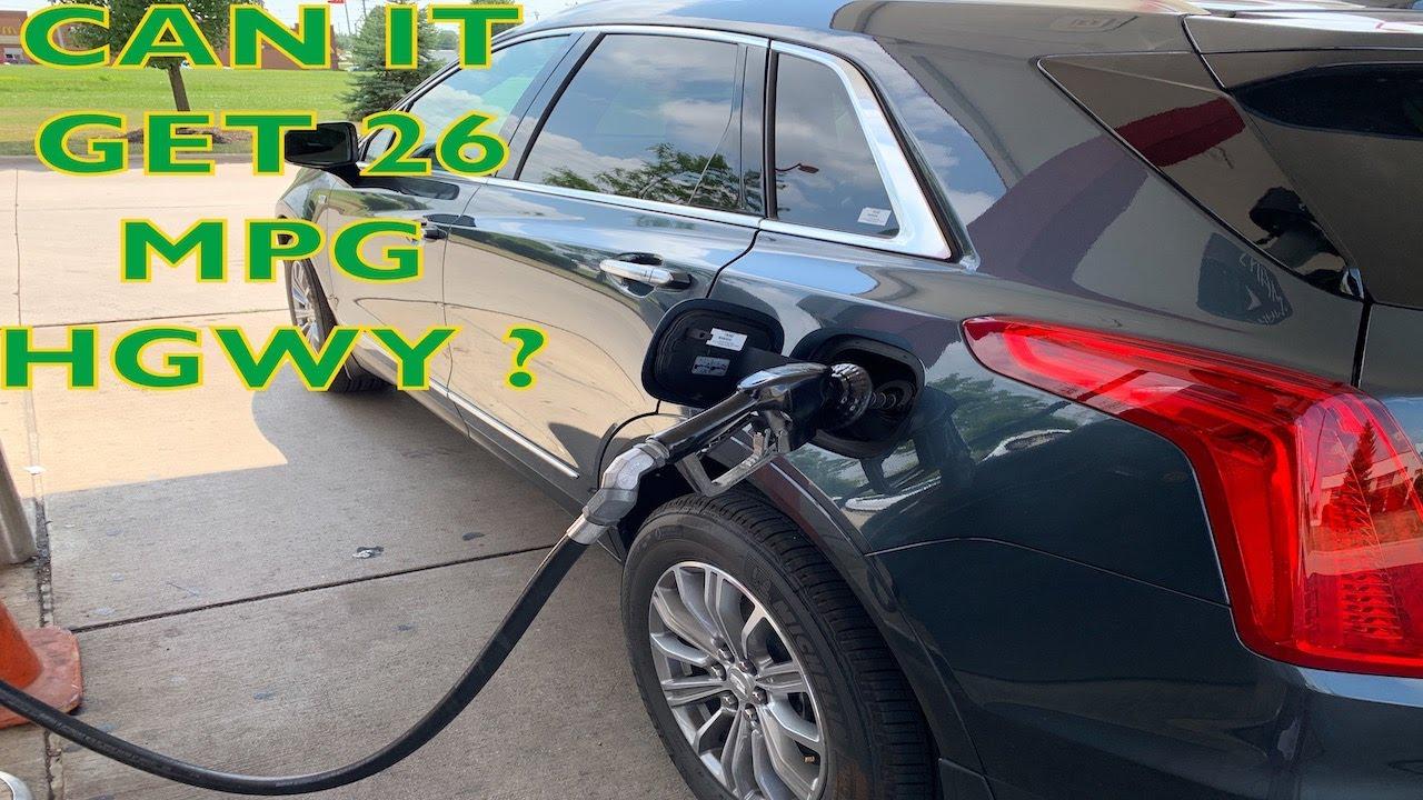 2019 Cadillac XT5 Fuel Economy