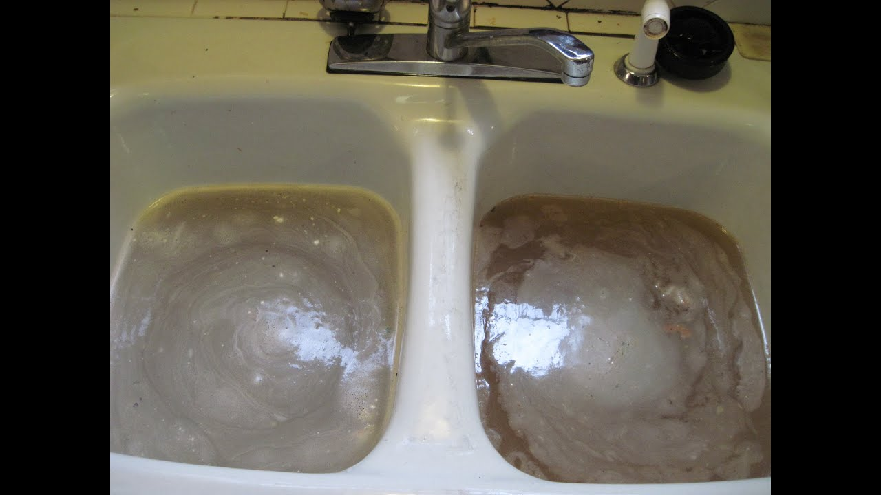 How To Unclog A Kitchen Sink YouTube - My kitchen sink is clogged