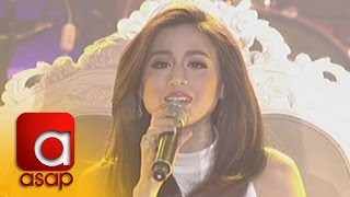 "ASAP: Toni Gonzaga sings ""Baby, Now That I"