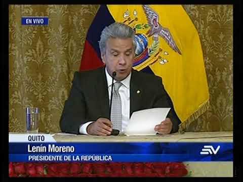 Presidente Moreno anunció integrantes de las ternas para el Consejo Trnasitorio
