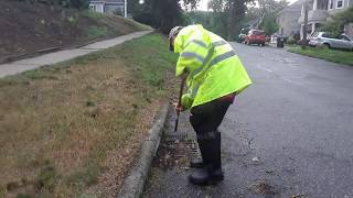 Unclogging Lots of Storm Drains Before and During a Storm