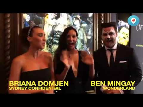 Sydney Red Carpet Periscope Highlights | Cats the Musical