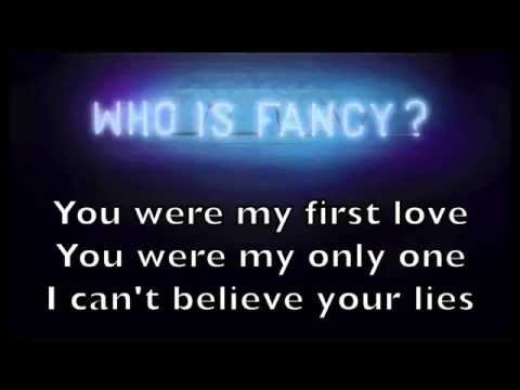 Who is Fancy - Goodbye Karaoke Acoustic Instrumental Cover Backing Track + Lyrics