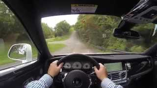 2015 Rolls Royce Ghost Series II POV Test Drive
