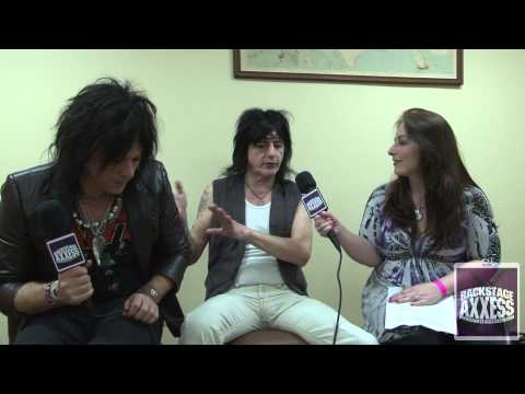 L.A. Guns Interview 2013 (HD) with BackstageAxxess.com