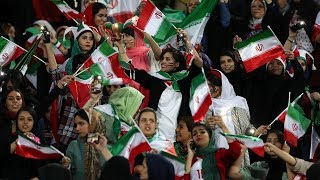 Thousands of Iranian women to attend football match freely after Fifa orders end to male-only policy