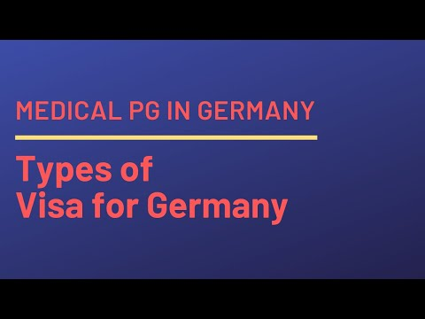Types of Visa for Germany