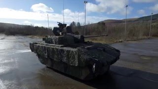The British Army's New AJAX Armoured Fighting Vehicle