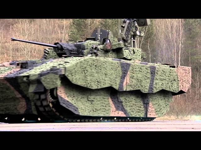 The British Armys New AJAX Armoured Fighting Vehicle