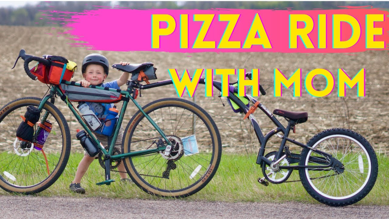 Pizza Ride with Mom