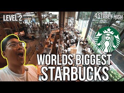 WORLD'S BIGGEST STARBUCKS IN TOKYO!
