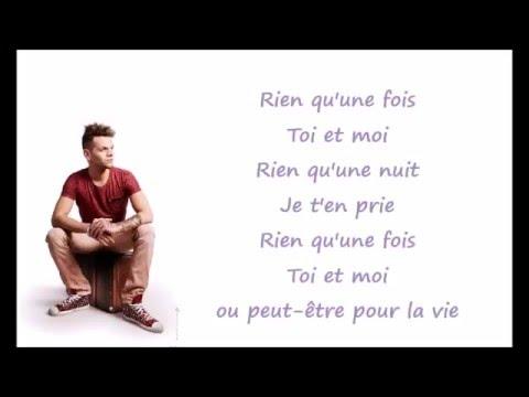 KEEN'V - Rien qu'une fois - Lyrics