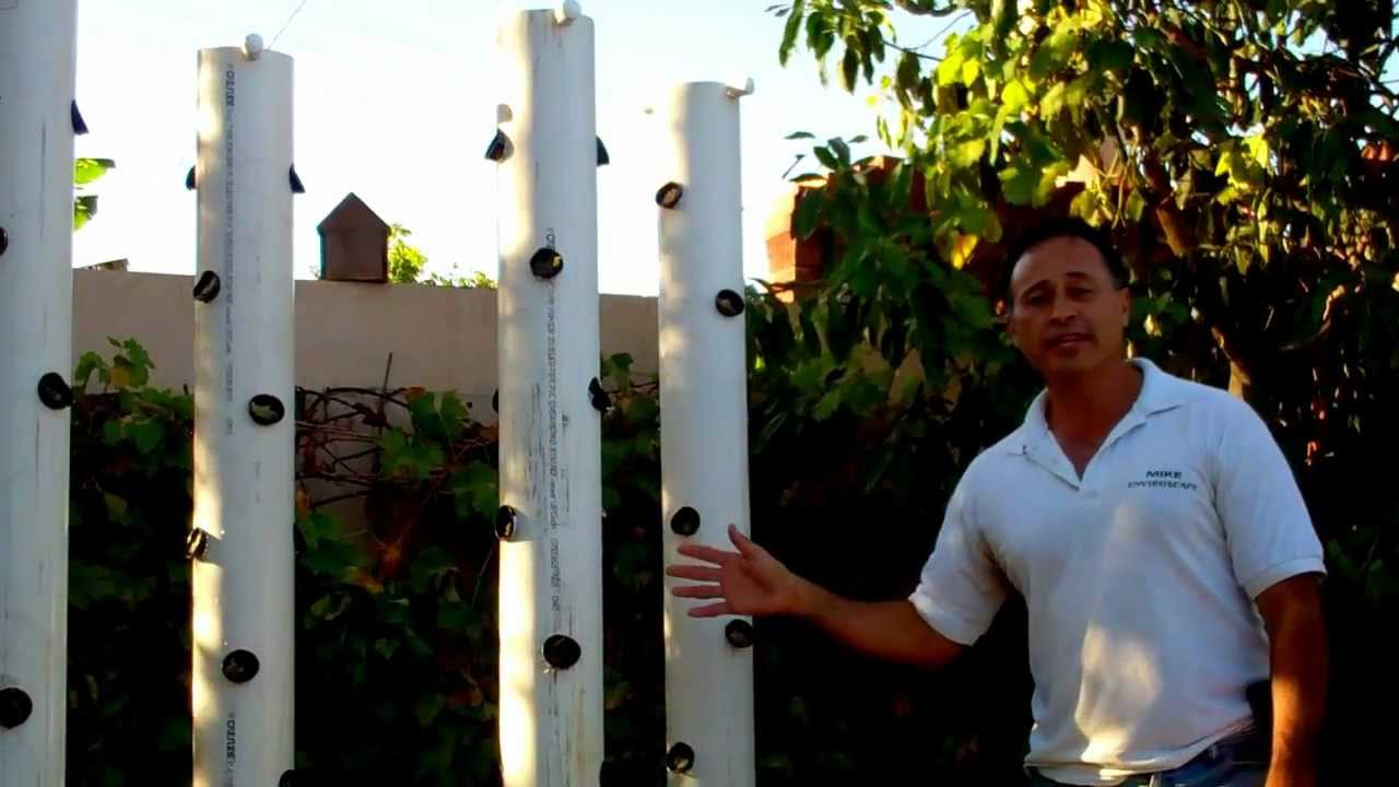Vertical Aeroponic Garden Enviroscape LA YouTube