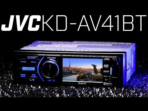 JVC KD-AV41BT Single DIN DVD Bluetooth Receiver - Must See 3