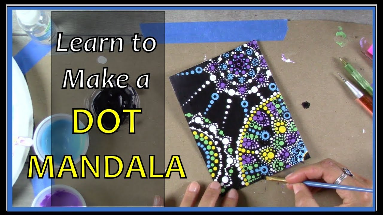 Dot Mandala Painting for Beginners