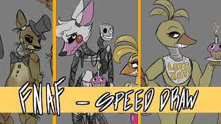 - FNAF Characters SPEED DRAW