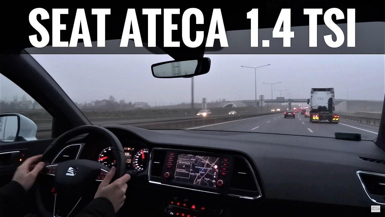 2017 SEAT ATECA 1.4 TSI TEST DRIVE Pierwsze Wrażenia [Jazda Testowa] Próbna PL