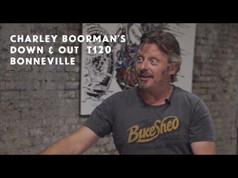 Charley Boorman's Down & Out Triumph T120 Bonneville