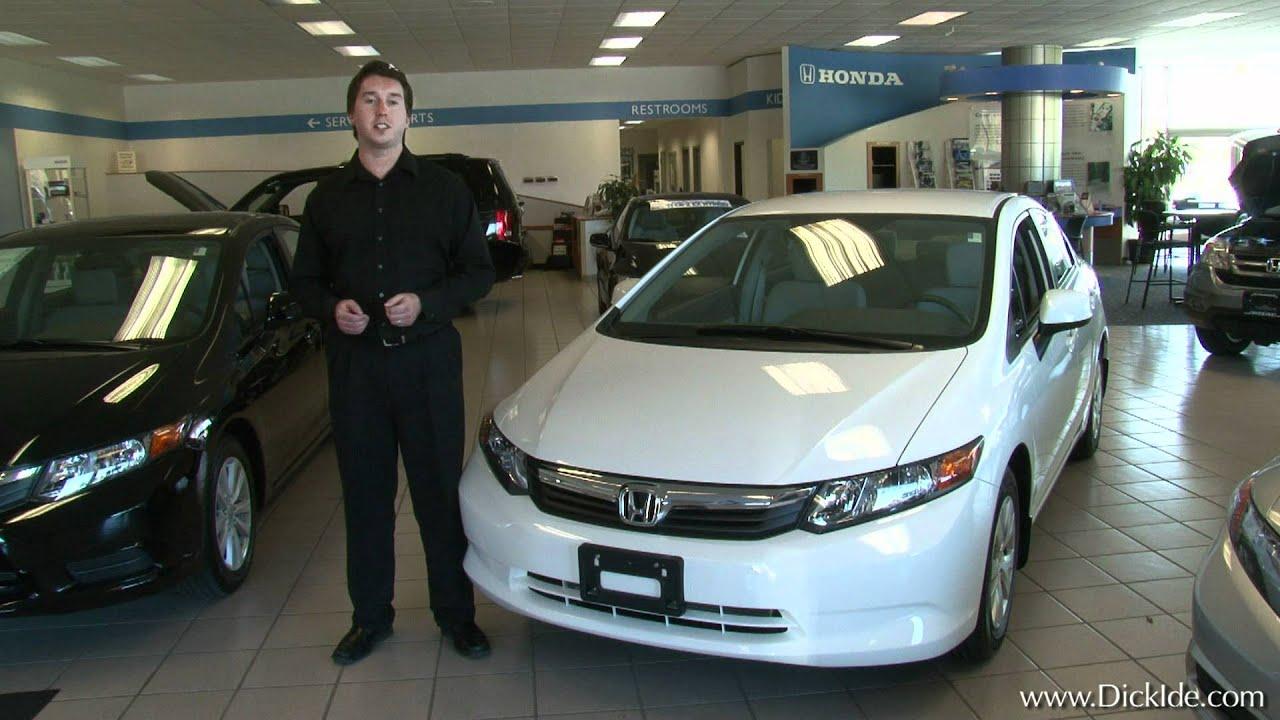 Dick Ide Honda >> 2012 Civic Sedan Introduction Video Dick Ide Honda Rochester Ny