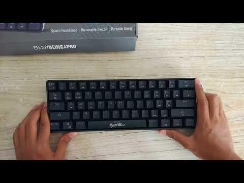 Unboxing Keyboard Gaming Mechanical Digital Alliance Meca Sport 60% Size Indonesia