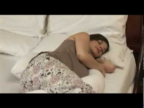 Dreamgenii Pregnancy Pillow  demonstration video  YouTube