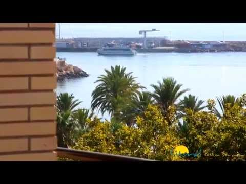 Holiday rentals Cambrils apartment La Salle located first line of the beach near the port