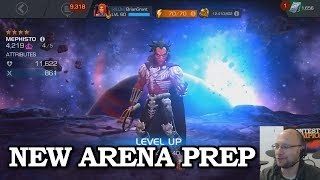 Level Up Prep for New Arena   Marvel Contest of Champions