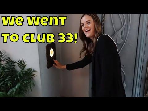 We Went To Club 33 At Disneyland!!!!! - May 2019