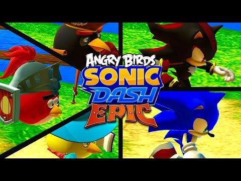AN UNUSUAL CROSSOVER... (Sonic Dash [Angry Birds Epic])