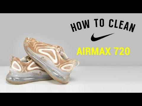 How To Clean Nike Airmax 720 With Reshoevn8r