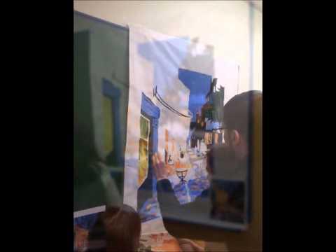 Terraza De Café A Medianoche De Vincent Van Gogh