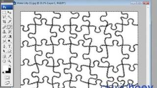 Any Photo Into A Jigsaw Puzzle - Photoshop - Week 21