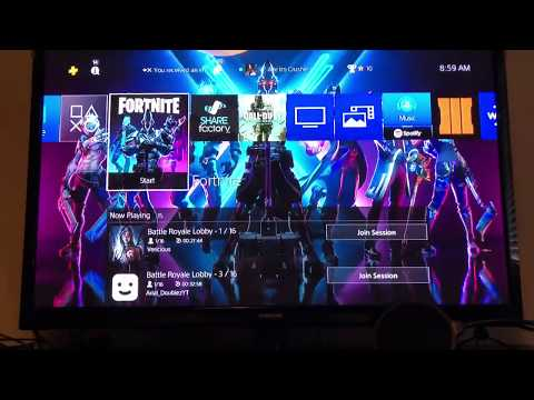 How To Download Fortnite On PS4 For Free!
