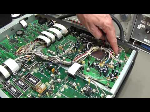 #94 Yaesu FT-1000 Mark V with dead ALC level circuit.