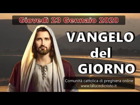 VANGELO DEL GIORNO GIOVEDI 23 GENNAIO 2020 ❤️ Tu sei il Figlio di Dio!