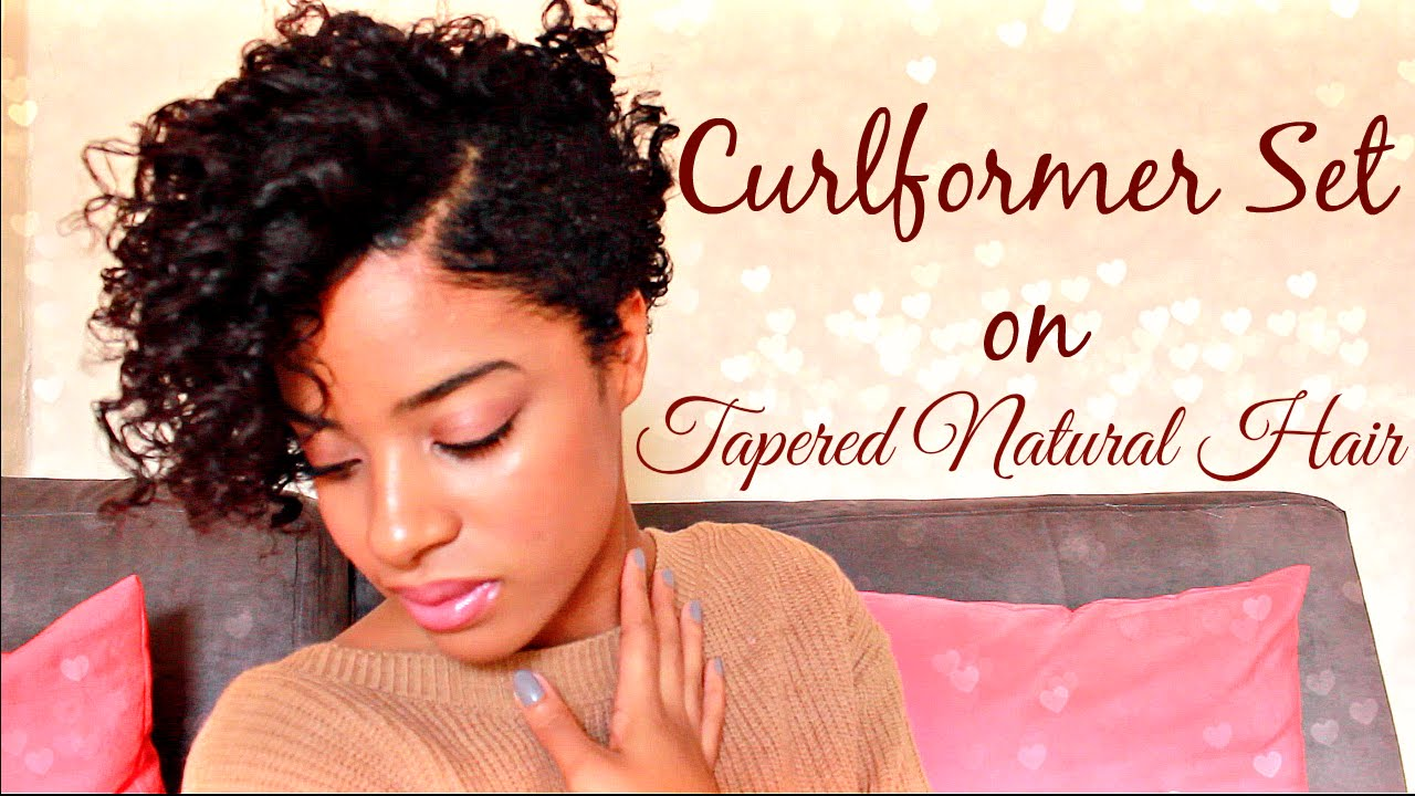 curlformer set tapered natural