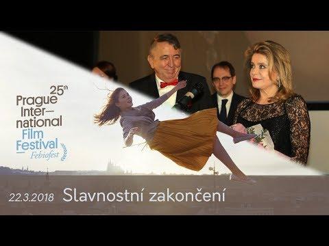 Slavnostní zakončení MMF Praha - Febiofest 2018