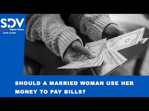 Who should carry the financial responsibilities in a marriage? |LOVE CLINIC