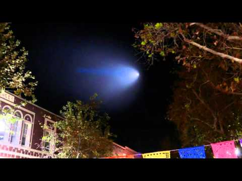 Trident Missile launch over Southern California