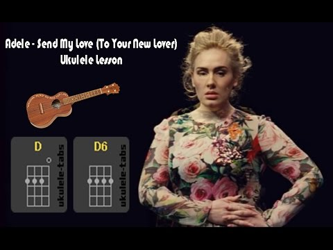 Adele Send My Love To Your New Lover Ukulele Lesson Youtube