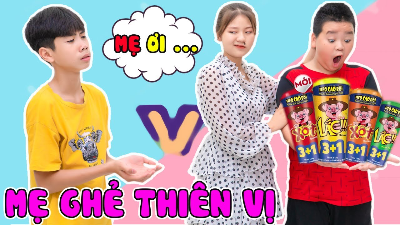 Mẹ Ghẻ Thiên Vị ❤Con Chồng Không Được Ăn Xúc Xích Heo Cao Bồi ❤Jun Jun Vlog