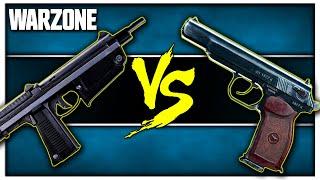 Best Full Auto Pistol in Warzone? (AMP63 vs Sykov)