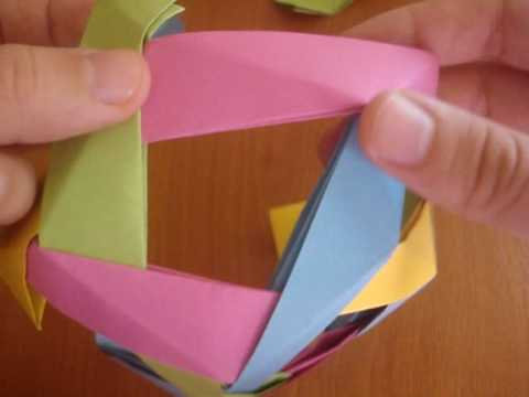 origami dodecahedron youtube