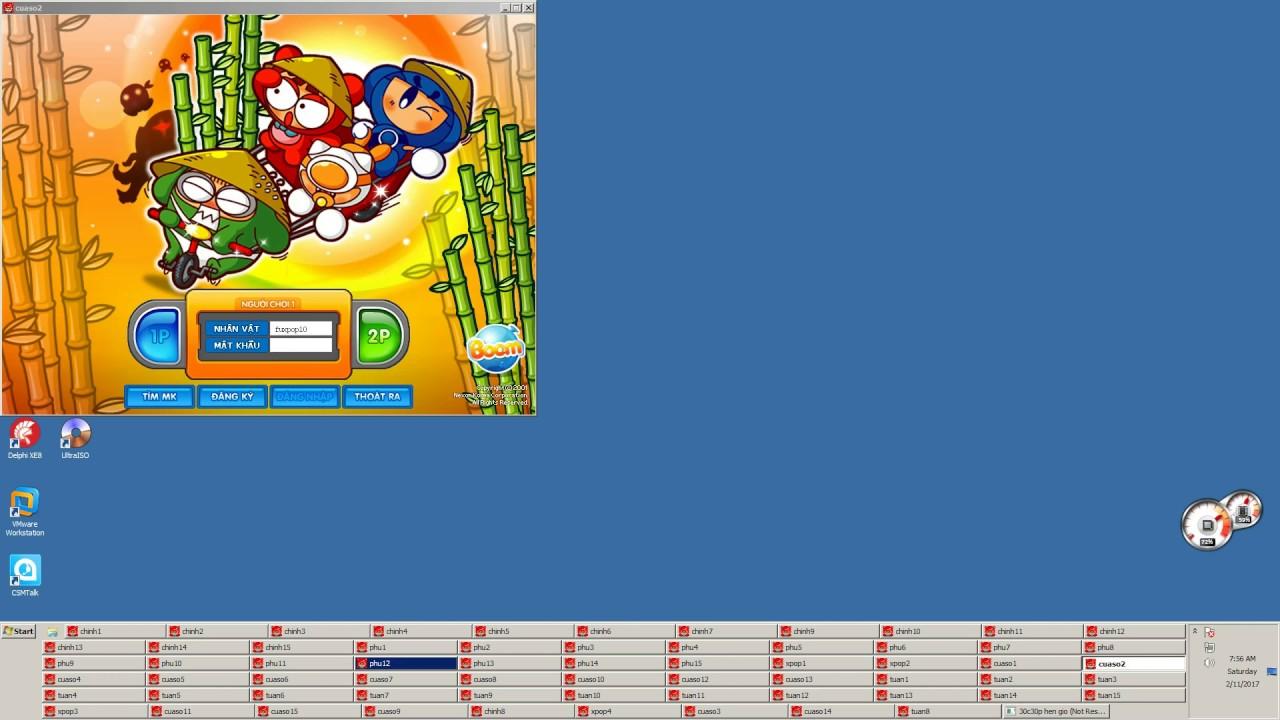 AuTo Sieu Cap Boom Online (Tự động mở máy , tự log acc khi dis , tự post)