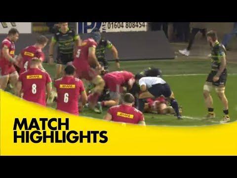 Anglo-Welsh Cup Match Highlights - Northampton Saints v Harlequins