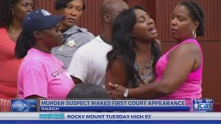 Wife of Raleigh murder victim has emotional outburst in court