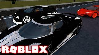 folle autostrada illegale corse nella mia SUPERCAR / Roblox episodi / [OPEN BETA!] Vehicle Simulator