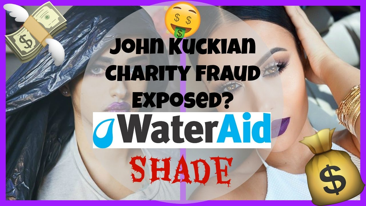 John Kuckian & Amrezy Charity Fraud EXPOSED? - Water Aid ...